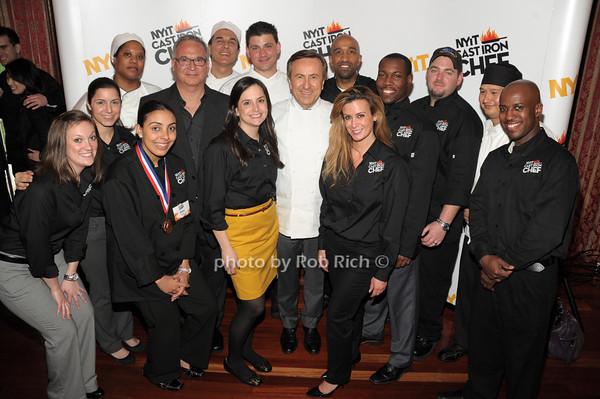 NYIT staff with Daniel Boulud photo by Rob Rich/SocietyAllure.com © 2014 robwayne1@aol.com 516-676-3939
