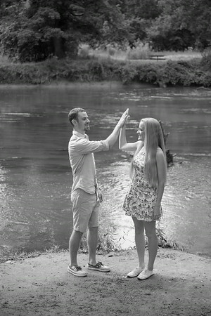 Jess + Jordan Engagement Wedding Photography Detroit Metropark