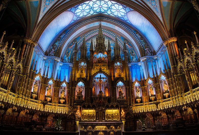 Notre-Dame in Montreal