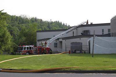 Fire, Mahanoy School Complex, Mahanoy Area School, Mahanoy City (5-30-2011)