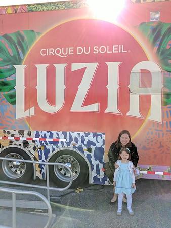 Cirque du Soleil - Luzia - 10.1.17 Ellie's 1st Cirque show