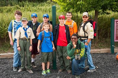 Boy Scout Trip to Norman J. Levy Park & Preserve - 10/3/2014
