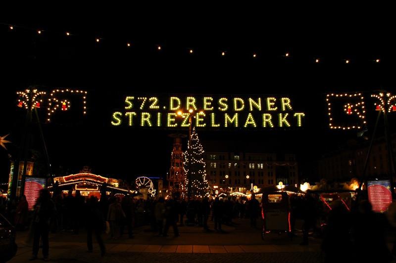 Striezelmarkt Christmas Market - Dresden, Germany