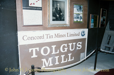 Tolgus Tin Mill, Cornwall