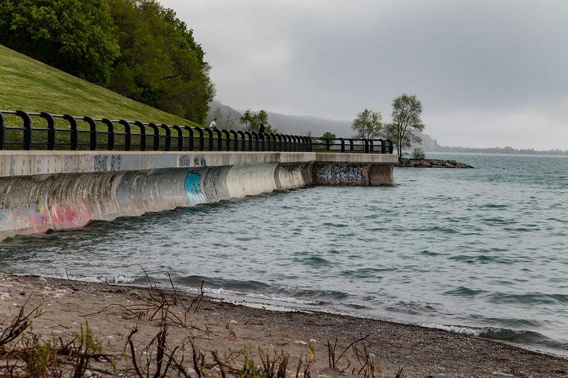 Lake Ontario Beside The Plant