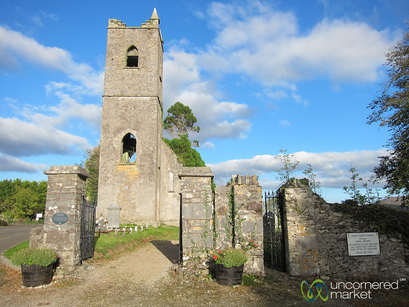 Killowen Church and Graveyard - Ring of Kerry, Ireland