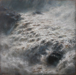 """""""Le torrent"""" (acrylic) by Martin Blanchet"""