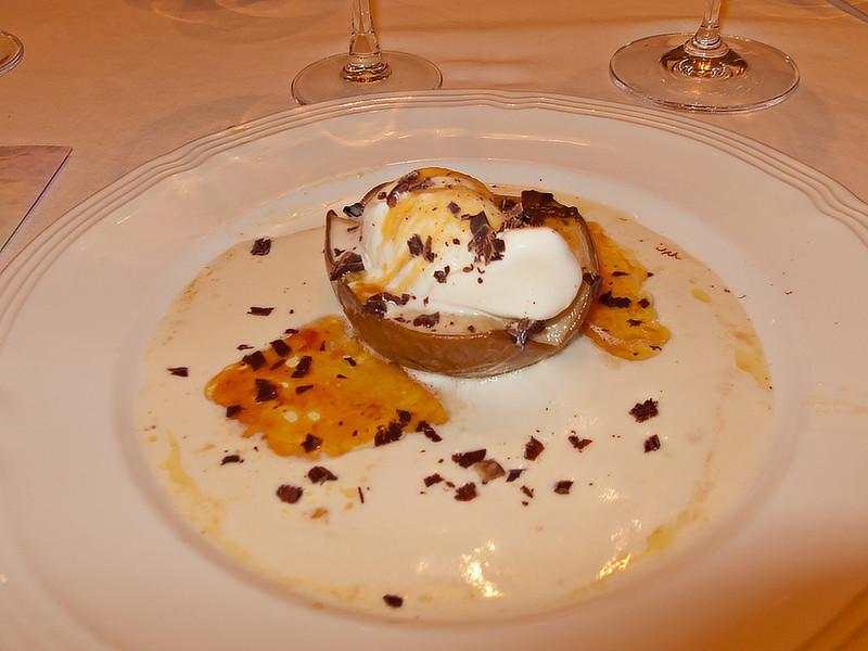 Baked D' Anjou Pears for dessert