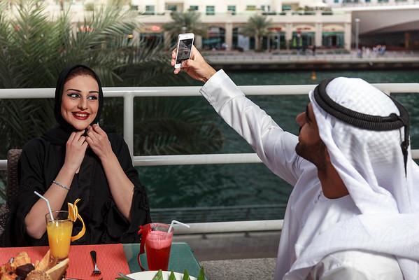 Dusit Restaurant Dubai Marina 29 Jan 2016