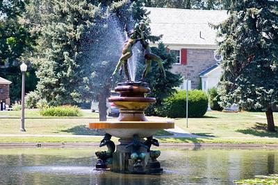 Italian Gardens Fountain, (Aunt Mandy), Harrisburg PA 08-08-08