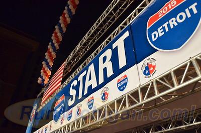 Start, Gallery 1 - 2015 Detroit Marathon