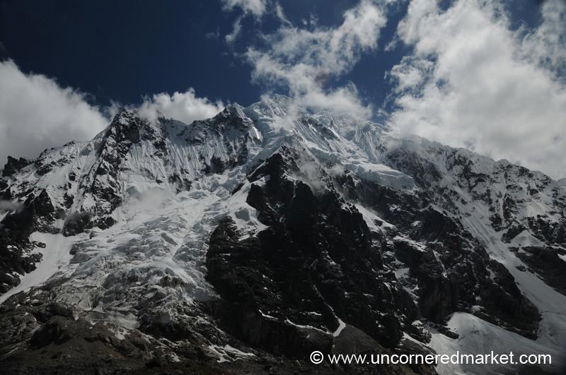 Reward View at the Top - Day 2 of Salkantay Trek, Peru