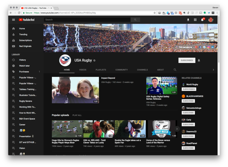 USA Rugby Youtube Channel Feature photo
