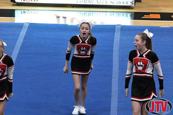 Homer Invitational Competitive Cheer 12-7-19