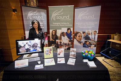 Puget Sound Business Journal's 2017 Women of Influence award program at the Hyatt Regency Bellevue.