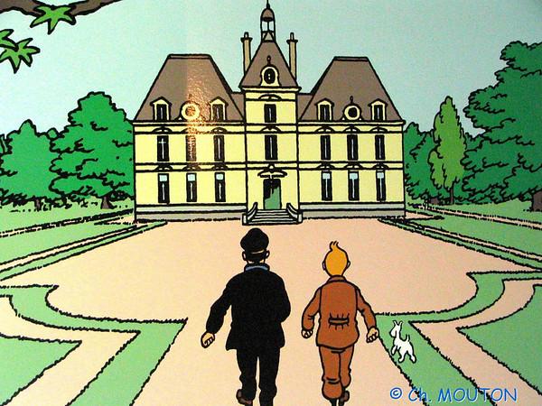 Chateau de Cheverny - Expo Tintin