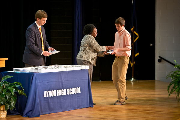 Aynor High School Ring Ceremony 2012