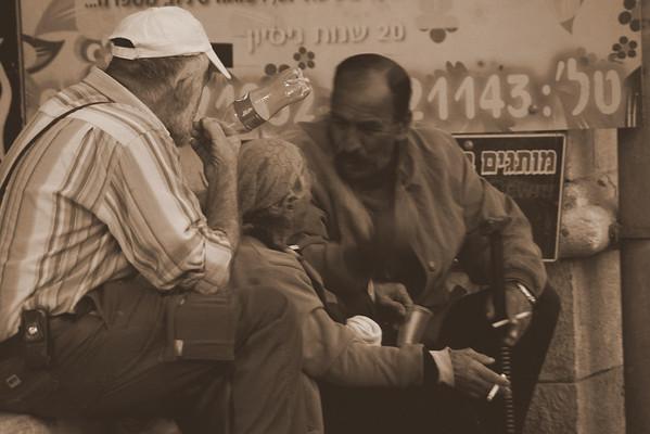 Street Scenes Jerusalem
