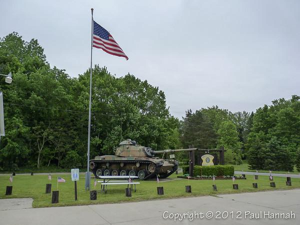 American Legion Post 518 - New Troy, MI - M60A0