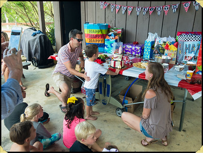 Forest's Six Year Birthday Party