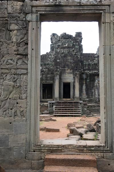 Doorway to Angkor Thom