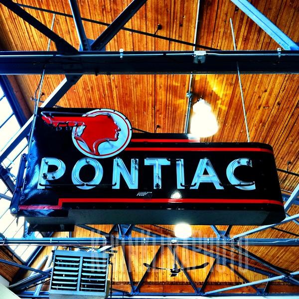 Pontiac Neon Sign