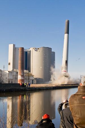 Schoorsteen suikerfabriek Groningen