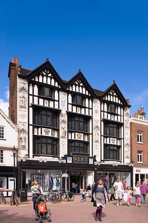Tudor style house on Market Place, Kingstone upon Thames, Surrey, United Kingdom