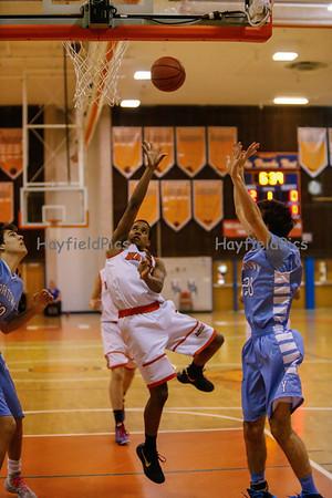 Boys Basketball Yorktown 2/19/14