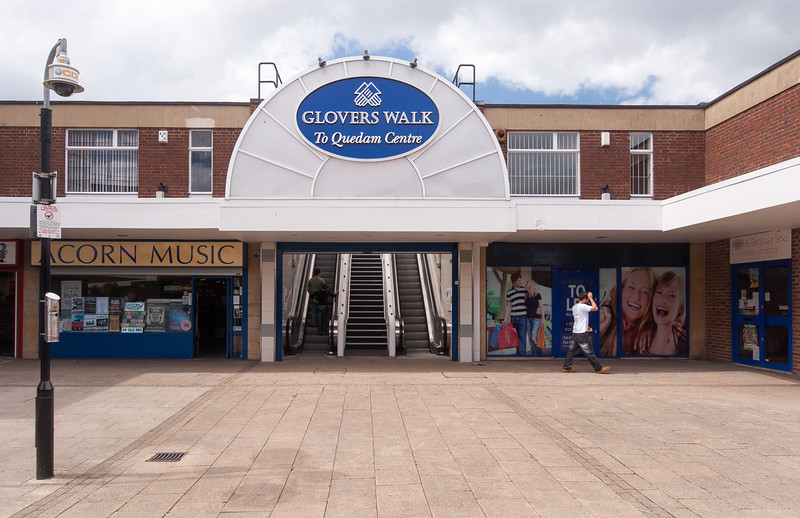 Glover's Walk shopping precinct