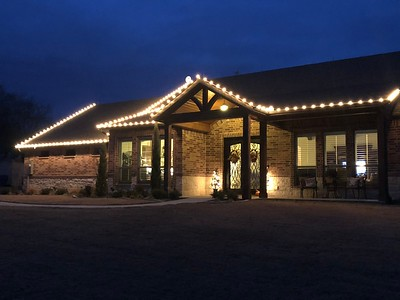 Christmas Lights in Howe area (send us yours)