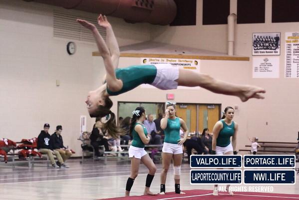 VHS Gymnastics @ Sectionals 2013
