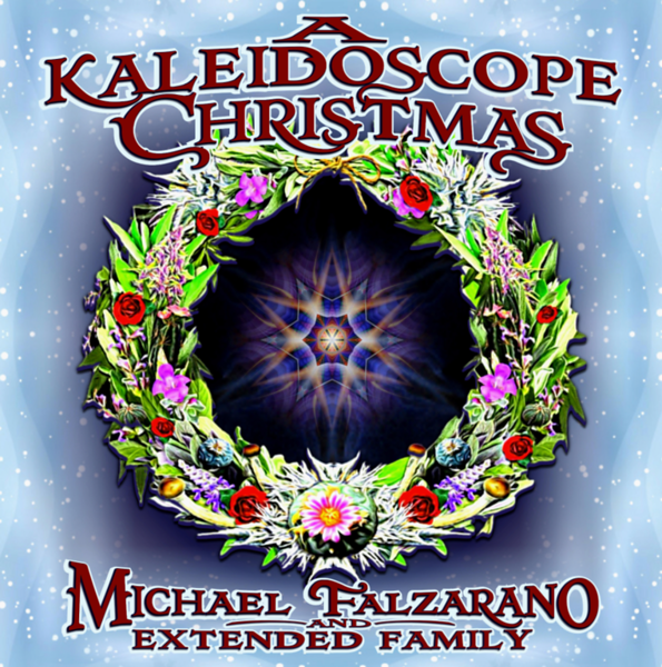 MICHAEL FALZARANO DECORATES THE HOLIDAYS WITH A KALEIDOSCOPE CHRISTMAS