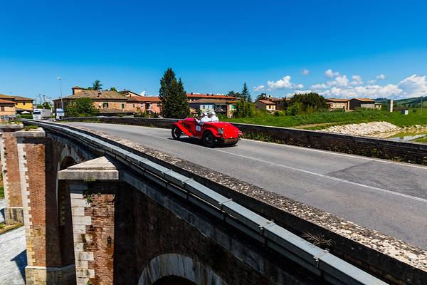 Radicofani to Monterrigioni - Ponte D'arbia