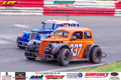 Oval Track Legends, Hednesford, 24 March