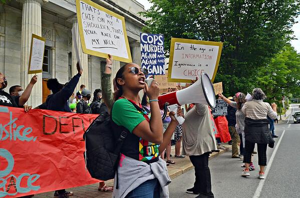 Black Lives Matter rally in Bennington - 061420