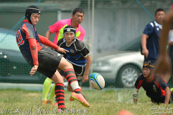 2015年第69屆全國錦標賽國中組(69th Taiwan Rugby Chanpionship 15s, Junior High School Group)