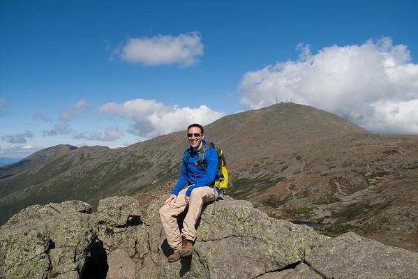 Hiking Mount Pierce, Eisenhower & Monroe