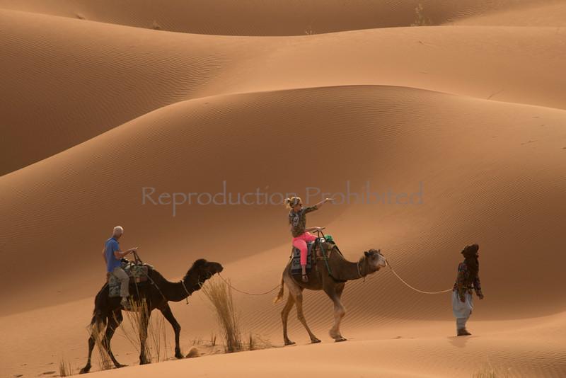 Hot Pants in the Hot Desert Sahara Morocco April 2013