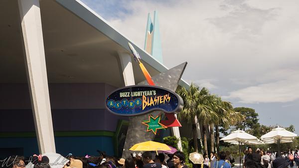 Disneyland Resort, Tokyo Disneyland, Tomorrowland, Buzz Lightyear, Buzz Lightyear's Astro Blasters, Astro Blasters, Astro, Blasters