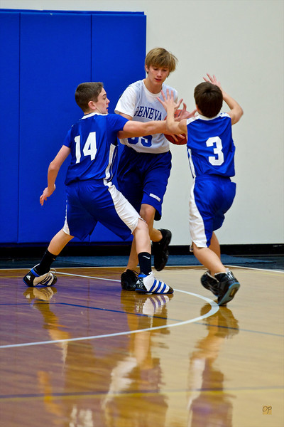7th/8th Basketball vs. International Community School-December 14, 2010
