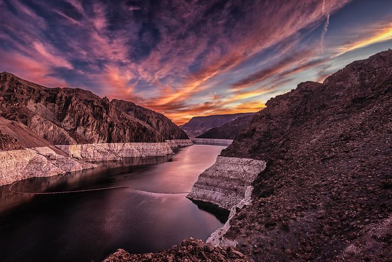 Colorado River Above the Hoover Dam