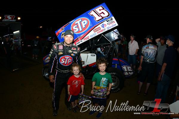 Cedar Lake Speedway, WoO Sprint cars, June 29th, 2014