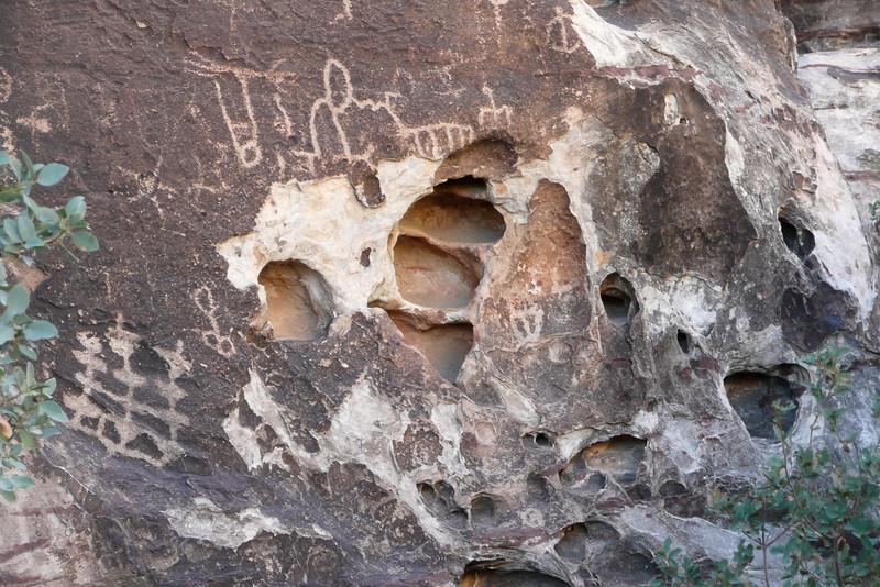 Petroglyphs Trail. Red Rock Canyon