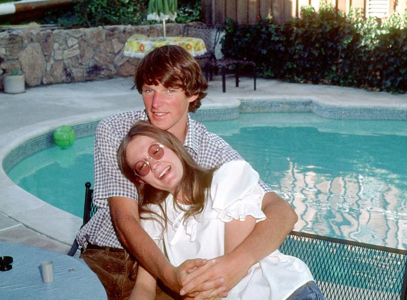 Chris with his girlfriend Toni Johnson.  Major catch.