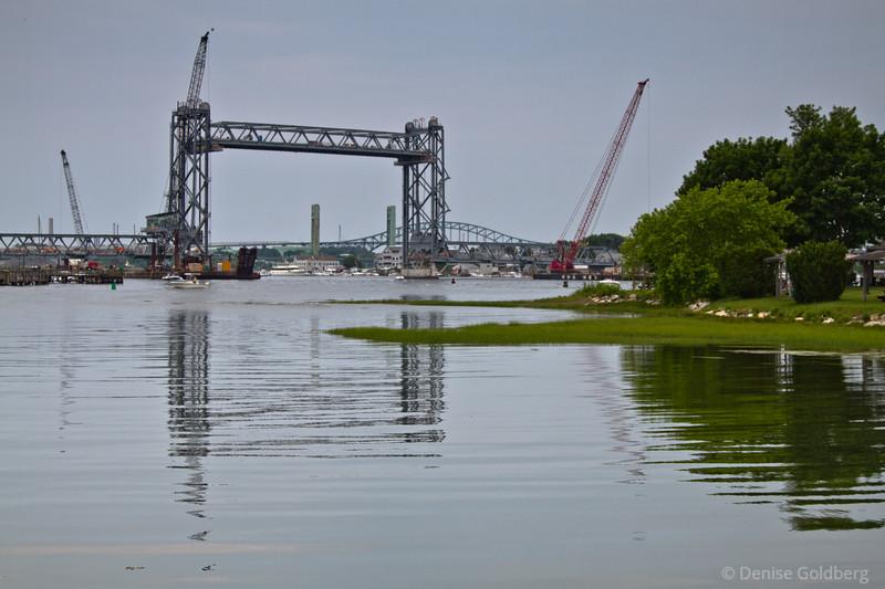 span raised > rebuilding a bridge