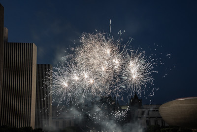 2018 July 4th Fireworks - Empire State Plaza