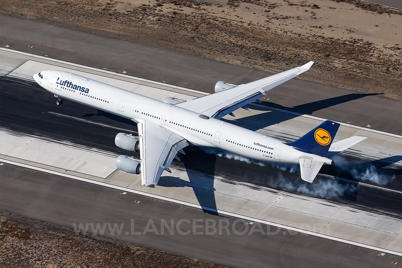 Lufthansa A340-600 - D-AIHP - LAX