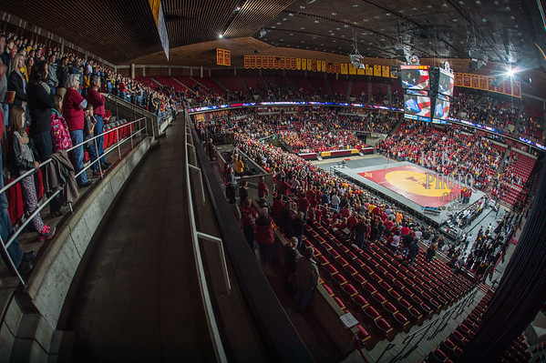 ISU Wrestling vs Iowa 11/29/15