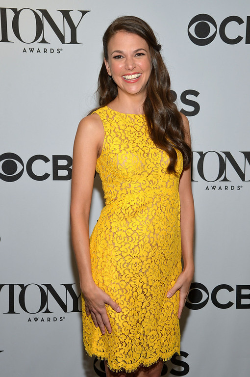 . Actress Sutton Foster during the 2013 Tony Awards Nominations Ceremony at The New York Public Library for Performing Arts on April 30, 2013 in New York City.  (Photo by Mike Coppola/Getty Images for Tony Award Productions)